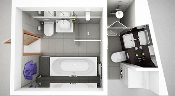 3D ontwerp keuken en badkamer