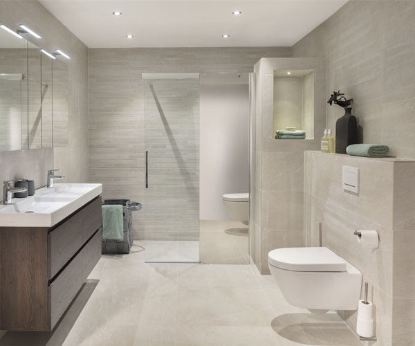 ontdek de nieuwe collectie badkamers bij brugman