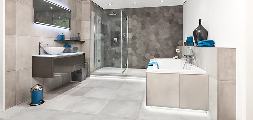 De juiste badkamerverlichting