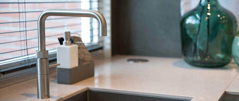 Een kokend water kraan: gemakkelijk en veilig