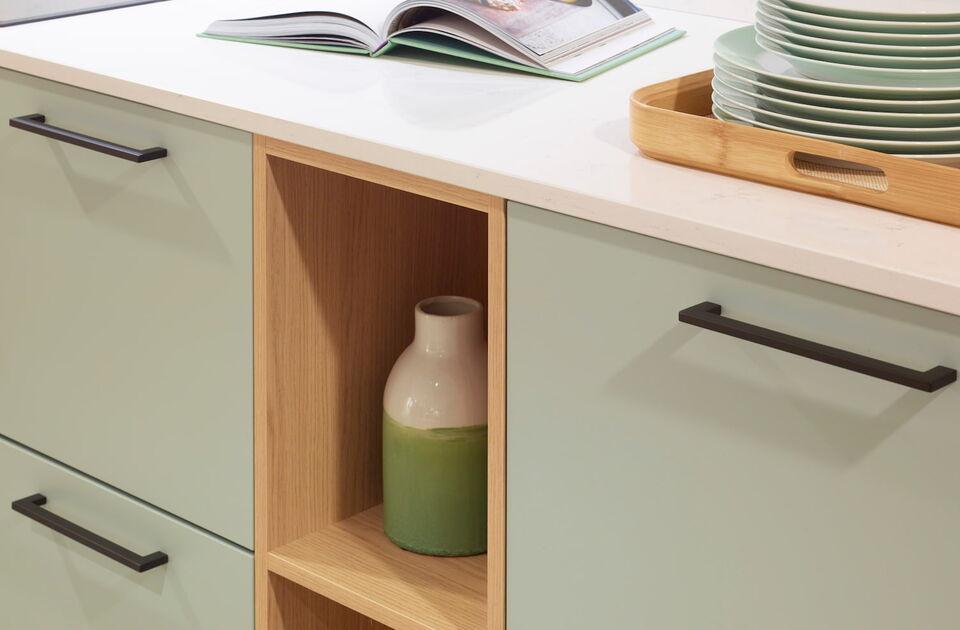 keukenkastje pastel kleur