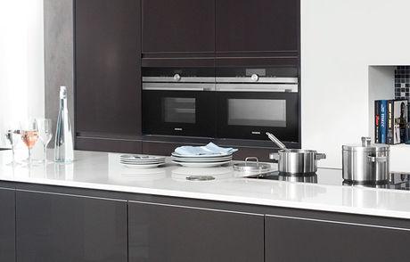 Keukens zonder bovenkasten