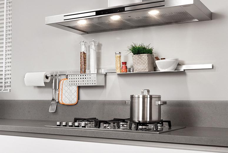 Combineer keramiek keukenblad