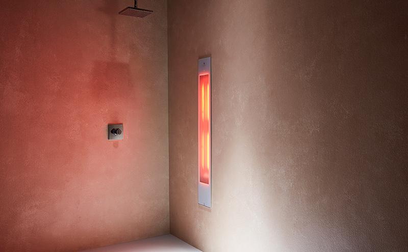 Sunshower infrarood