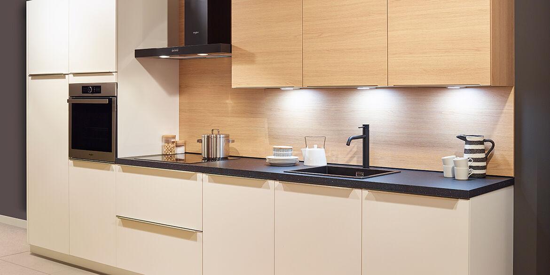 Keuken met achterwand