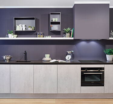 Keukenmengkraan zwart