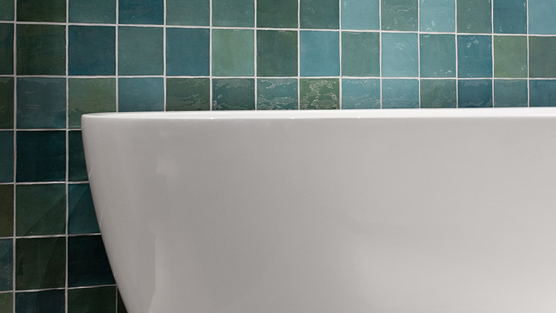 Marokkaanse tegels in de badkamer