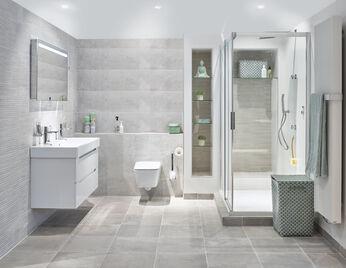 wit grijze badkamer