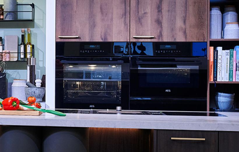Keuken met A-merk apparatuur