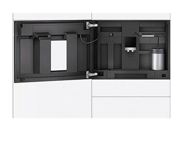 Siemens inbouw koffiemachine