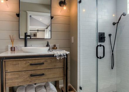 Houten Stellingkast Badkamer : Industriële badkamers: stoer en robuust brugman