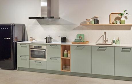 Met een groene keuken ga je voor uniek en opvallend