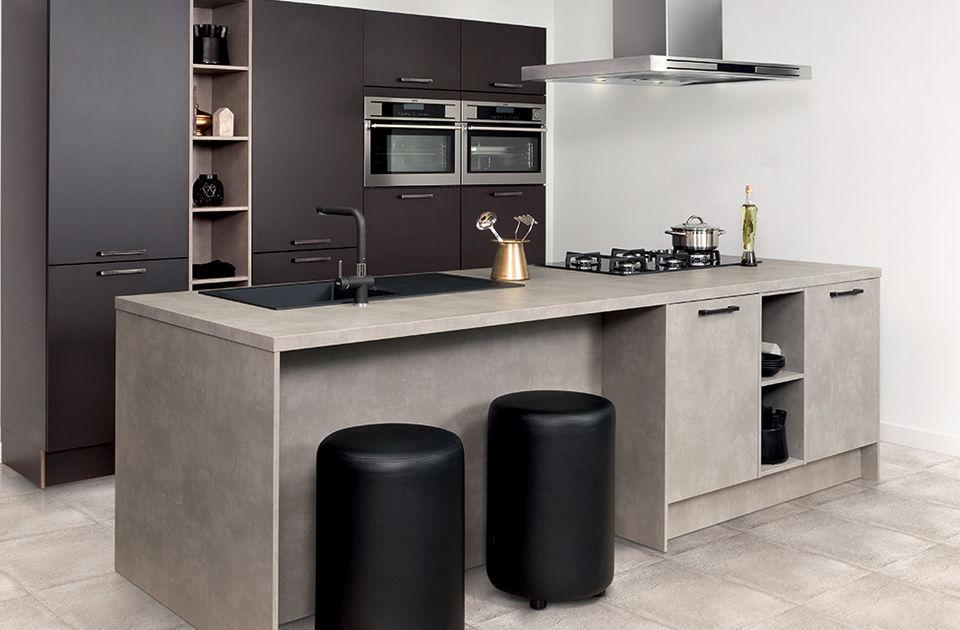 Moderne industriële keuken