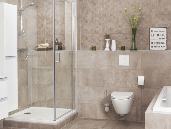 Muurverf Badkamer Betonlook : Betonlook badkamers: tips en inspiratie! brugman