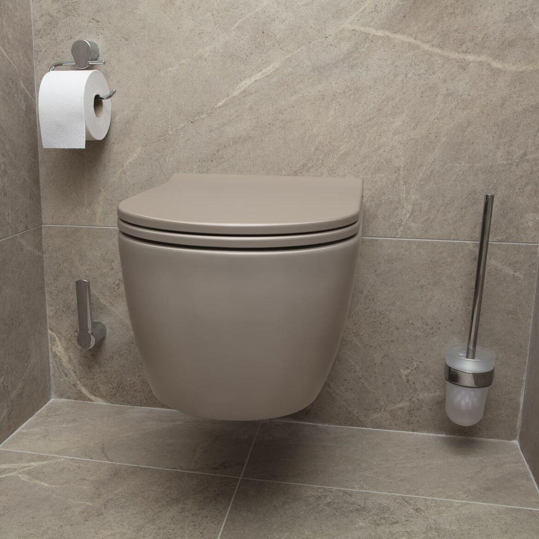 grijze toilet