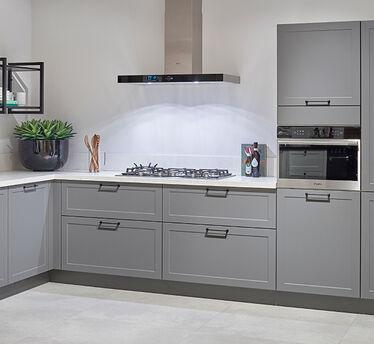 Terrazzo keukenblad - Blanko