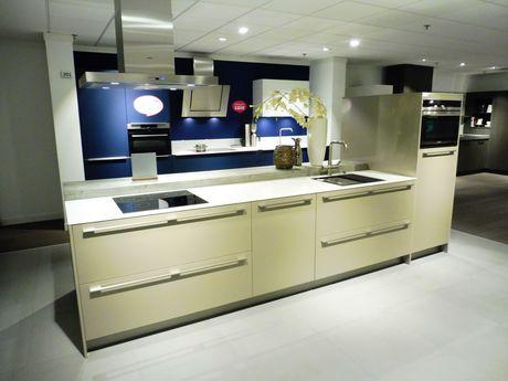 Showroomkeuken Brillant cubanit glanzend Den Bosch
