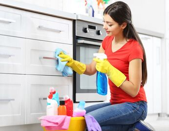 schoonmaken keukenkastjes