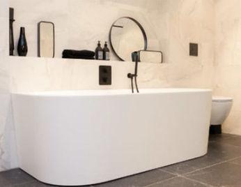 Design badkamer: exclusief strak en modern brugman