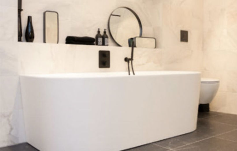 Design badkamer exclusief strak en modern brugman
