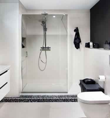 Design badkamer met inloopdouche