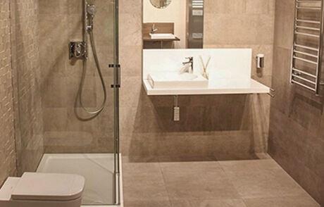 Ideale badkamer vloer