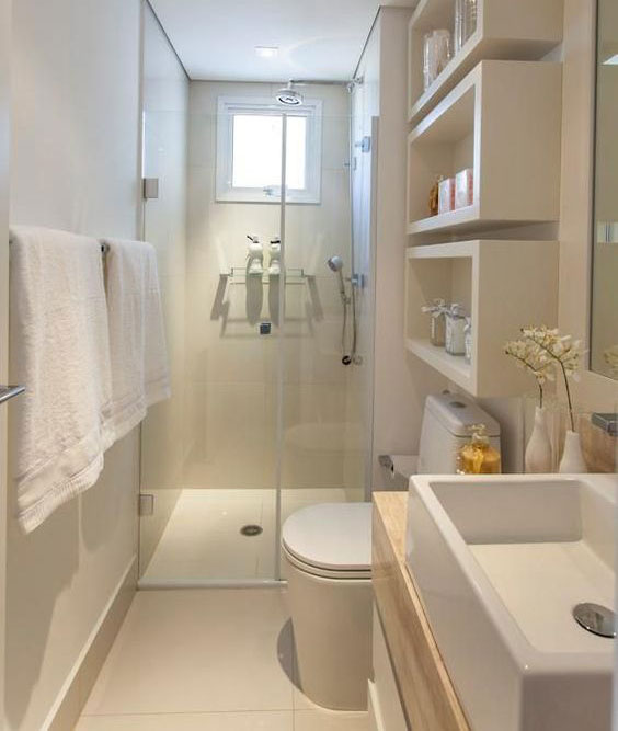 Richt je kleine badkamer praktisch in brugman for Inrichting badkamer 3d