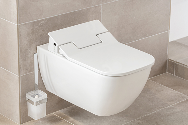 Randloos toilet